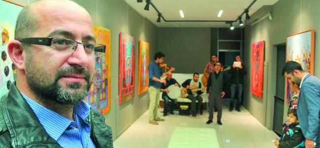 Kaplanoğlu'ndan 'Sır'resim sergisi