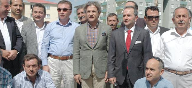 Demircan'dan  Erzurum ziyareti