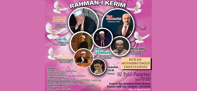 Rahman-ı Kerim programı