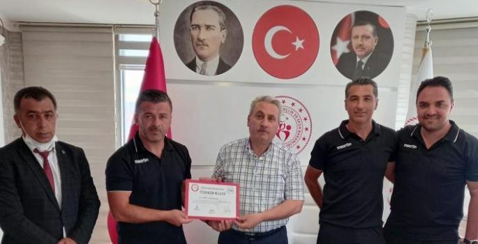 Ayak Tenisi Federasyonu'ndan GHSİM'ne ziyaret