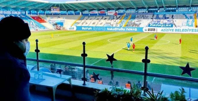 Aziziye'den Erzurumspor'a maddi destek