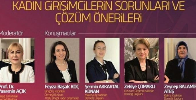Doğu Anadolu Girişimci Kadın Dernekleri panelde buluştu
