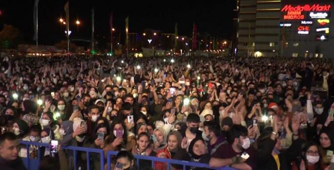 Erzurum'da açık hava konseri