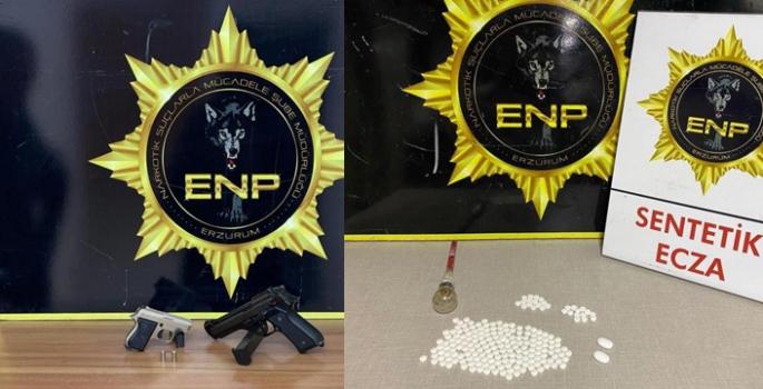 Erzurum'da uyuşturucu operasyonu: 6 tutuklama