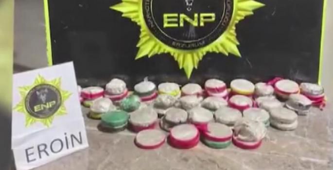 Erzurum'da uyuşturucu operasyonları: 13 tutuklama
