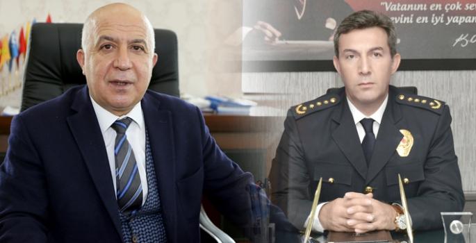 Erzurum'un Emniyet Müdürü değişti; Aslan gitti, Tuncer geldi