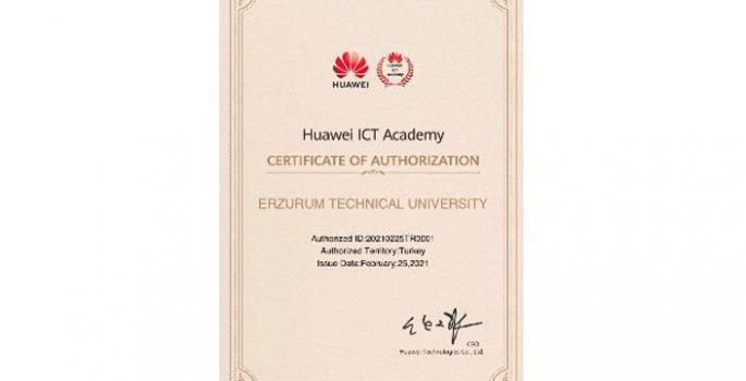 ETÜ ve Huawei iş ortağı oldu