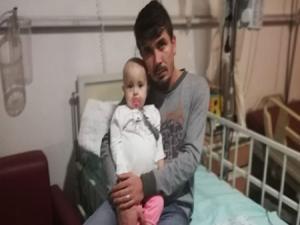 14 aylık Zekiye bebek kanserle savaşıyor