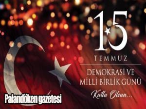 15 Temmuz demokrasi şehitlerimizi saygıyla anıyoruz