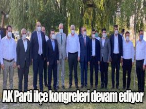AK Parti ilçe kongreleri devam ediyor