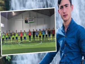 Ak Partili gençlerden arkadaşları anısına futbol turnuvası