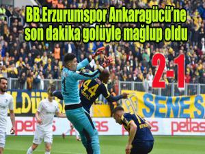 Ankara'da 90+3 şoku...