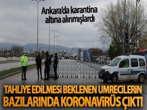 Ankara'da tahliye edilmesi beklenen Umrecilerin bazılarında koronavirüs çıktı!
