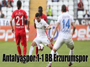Antalyaspor 1-1 BB Erzurumspor