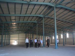 Ardahan'da 400 kişinin istihdam edileceği tekstil atölyesinin yapımında sona gelindi