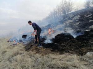 Ardahan'da orman yangını kontrol altına alındı