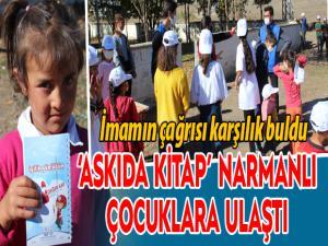 'Askıda Kitap' Narmanlı çocuklara ulaştı