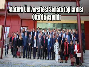 Atatürk Üniversitesi Senato toplantısı Oltu'da yapıldı