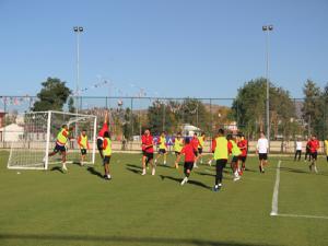 B.B. Erzurumspor, Ankara Demirspor maçı hazırlıklarını tamamladı