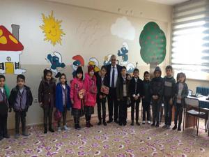Başkan Ahmet Dölekli, eğitime desteğini sürdürüyor