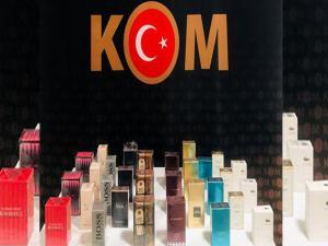 Bayburt-Erzurum karayolunda kaçak parfüm ele geçirildi
