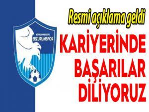 BB Erzurumspor'dan Mehmet Özdilek açıklaması