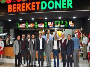 Bereket Döner, Erzurum MNG AVM şubesi törenle açıldı