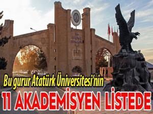 Bu gurur Atatürk Üniversitesi'nin