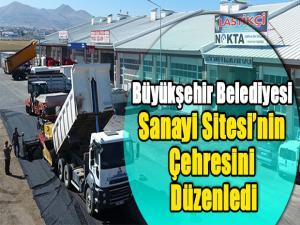 Büyükşehir Belediyesi  Sanayi Sitesi'nin  Çehresini  Düzenledi