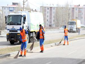 Büyükşehir'den bahar temizliği