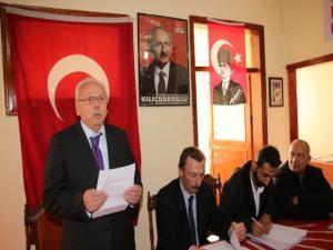 CHP Oltu İlçe Başkanlığı kongresi yapıldı