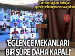Cumhurbaşkanı Erdoğan Gençlerle Konuştu