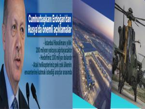 Cumhurbaşkanı Recep Tayyip Erdoğan'dan Rusya'da önemli açıklamalar!
