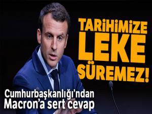 Cumhurbaşkanlığı Sözcüsü Kalın'dan Macron'a cevap