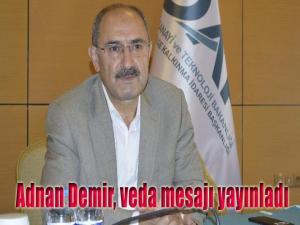 DAP başkanı Adnan Demir görevden alındı