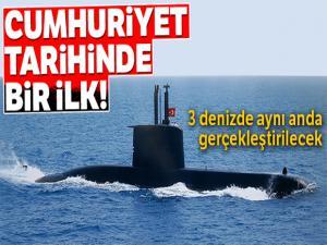 Deniz Kuvvetleri Komutanlığı Türkiye'yi çevreleyen denizlerde nefes kesecek