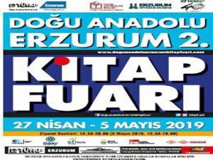 Doğu Anadolu Erzurum 2. Kitap Fuarı etkinlik programı açıklandı