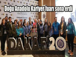 Doğu Anadolu Kariyer fuarı sona erdi