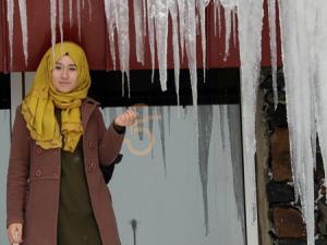 Doğu'da soğuk hava: Erzurum eksi 6