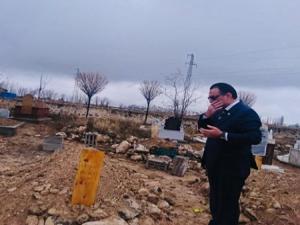 Donarak hayatını kaybeden Afgan gencin mezarını Ağrılı işadamı yaptıracak