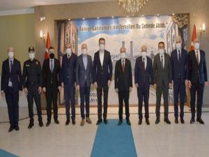 Emniyet Genel Müdürü Aktaş Erzurum'daydı