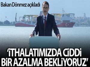 Enerji Bakanı Dönmez: 'Kendi üreteceğimiz gaz ithal edeceğimiz gaza göre daha ekonomik olacak'