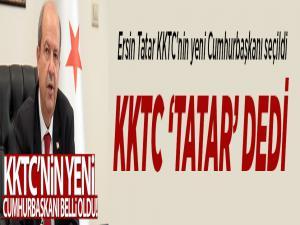 Ersin Tatar KKTC'nin yeni Cumhurbaşkanı seçildi