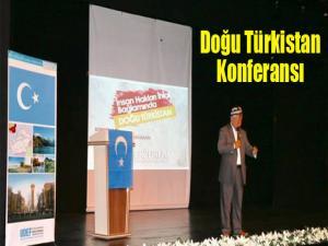 """Erzurum'da """"İnsan hakları ihlali bağlamında Doğu Türkistan"""" konferansı"""