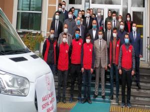 Erzurum'dan deprem bölgesi İzmir'e psikososyal destek