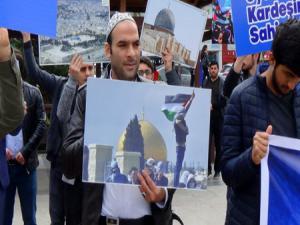 Erzurum'dan İsrail ve ABD'ye Kudüs tepkisi