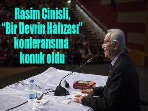 Erzurum Eski Milletvekillerinden Rasim Cinisli, Atatürk Üniversitesinde gençlere seslendi