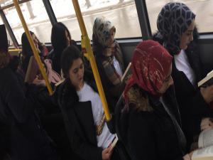 Erzurum Gençlik Meclisinden kitap okuma farkındalığı