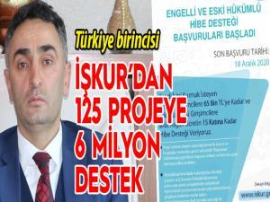 Erzurum İŞKUR Türkiye birincisi
