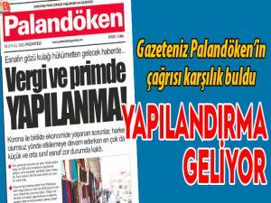 Gazeteniz Palandöken'in çağrısı karşılık buldu; Yapılandırma geliyor
